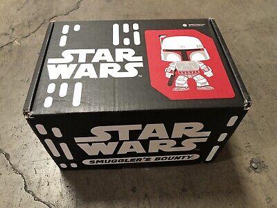 Star Wars Smuggler's Bounty Box Bounty Hunters Funko Pop