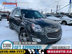 2017 Chevrolet Equinox Premier | AWD | NAV | LEATHER | ROOF | CA