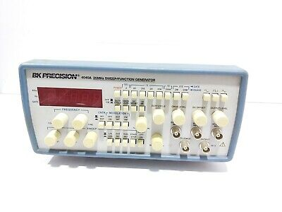 Bk Precision 4040a 20mhz Sweepfunction Generator Cable Not Available