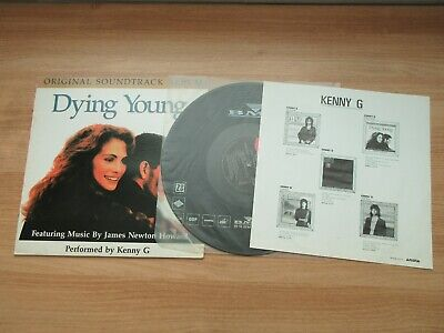 DYING YOUNG OST 1991 Korea Orig LP Kenny G,James Newton Howard Soundtrack