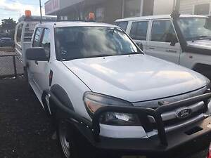 2011 FORD RANGER 3.0 TURBO DIESEL DUAL CAB 4X4 CAB CHASSIS Rochedale South Brisbane South East Preview