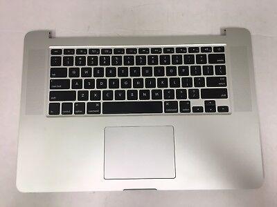 "Apple MacBook Pro A1398 15"" Late 2013 Mid2014 Palmrest Keyboard Touchpad Battery"