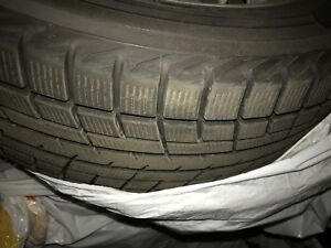205/55r16 winter tires. Used one season. . Mounted on mags