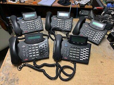5 X Telrad Avanti 79-630-0000b Speaker Full Duplex Digital Telephone Lot 5