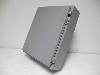 New Hoffman Type 12 13 T-269596 24 X 20 X 8 Wall Industrial Control Enclosure