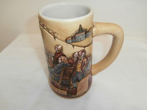 Beer stein celebrating 1776