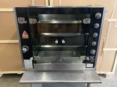 Rotisol 9502 Natural Gas Countertop Chicken Rotisserie Oven - Free Shipping