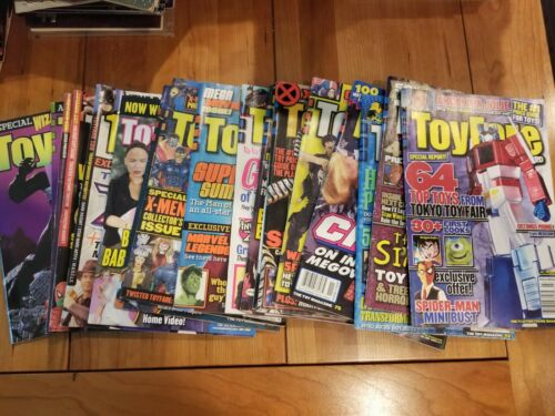 Toyfare Magazine by Wizard Single issues, You pick, complete your collection!