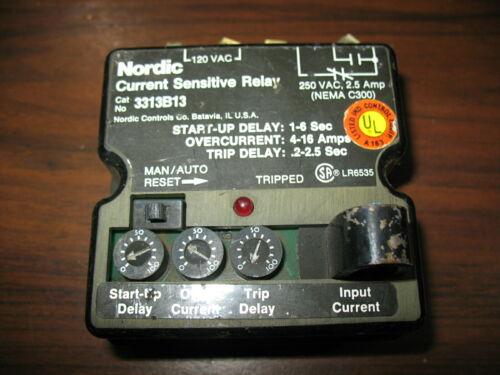 Nordic Furnas 3313B13 Current Sensitive Relay