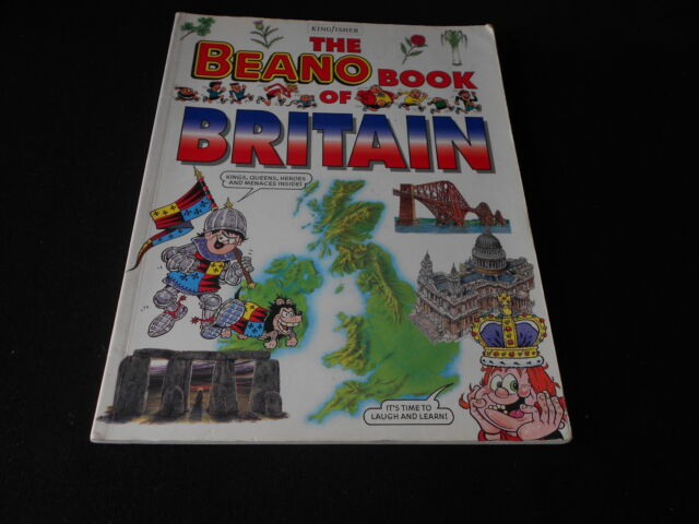 The Beano Book of Britain King Fisher  Collection Free UK P&P