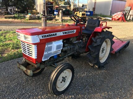 Yanmar tractor with slasher Lewiston Mallala Area Preview