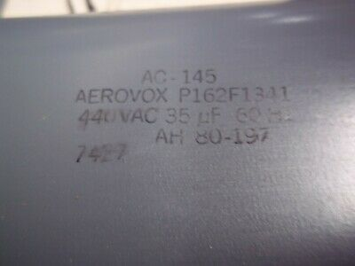 Aerovox  Capacitor  P162f1341 Ac-145