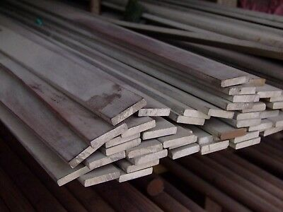 Alloy 304 Stainless Steel Flat Bar - 12 X 1 12 X 24