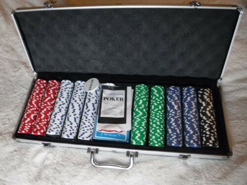 Poker Chip Set Large Size