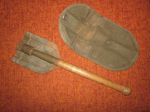 Military German army field spade shovel pelle entrenching tool klappspaten WW2