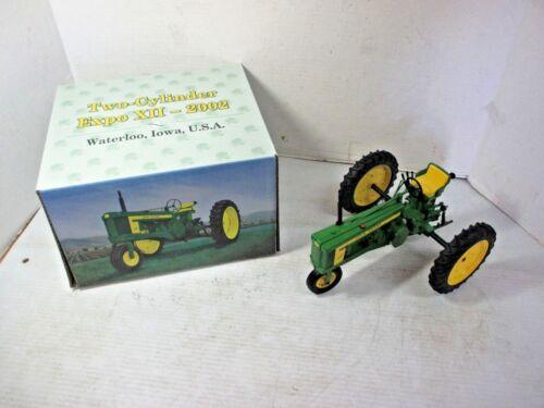 "ERTL John Deere Model ""520"" Two-Cylinder Expo XII - 2002 Die Cast Metal Tractor"