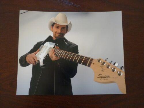 Brad Paisley Country Music 8x10 Color Promo Photo #3