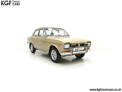 An Unspoilt and Rare Mk1 Ford Escort 1300E Campaign Model with Only 7,490 Miles