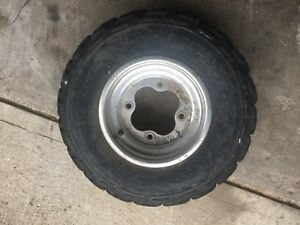 400 ex front rim and tire