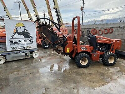 Ditch Witch Rt45 Ride On Trencher 2012 Low Hours