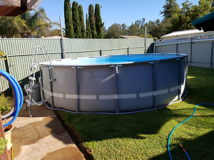 Swimming pool above ground Para Hills West Salisbury Area Preview