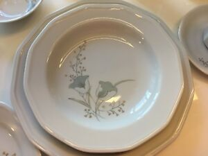 Dinnerware set for 12 includes service  accessories