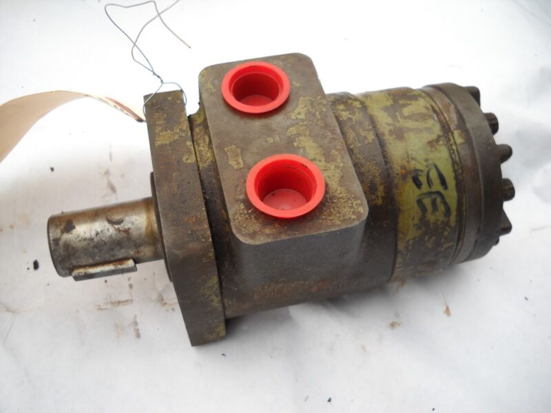 "H33 Char Lynn Hydraulic Motor Be25291 With 1"" Round Shaft And Keyway 8e25291"
