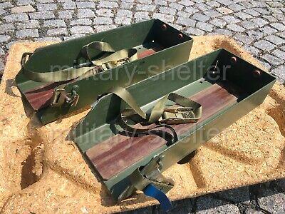 Kanister Einheit (2 x Kanisterhalter für 20 Liter Bundeswehr / Einheitskanister / Wasser Diesel)