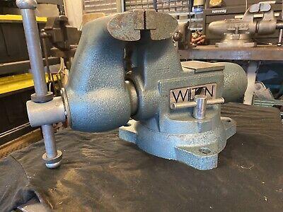 Wilton Tradesman Bullet Vise 6 12 Swivel Base