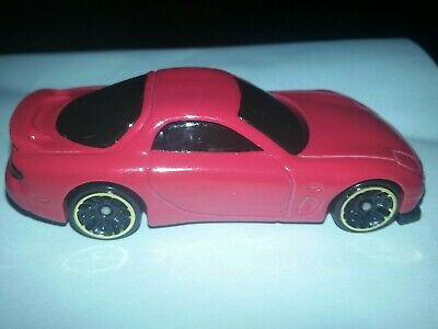 Hot Wheels 1/64th Kmart Exclusive Red '95 Mazda RX-7 LOOSE,EXCELLENT CONDITION