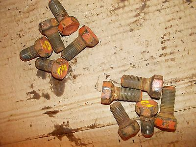 5 Allis Chalmers Wd Wd45 45 Tractor Ac Front Hub Stud Bolts Bolt For Rims
