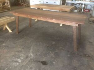 Reclaimed Timber Scandi Dining Table Brendale Pine Rivers Area Preview
