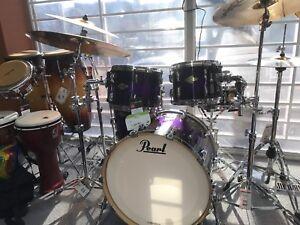 Pearl Master series Maple 5 piece kit