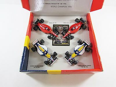 Onyx Formula 1 Mansell World Champion 1992 Commemorative Edition Set 1:43
