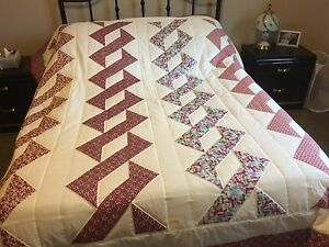 Queen patch quilt