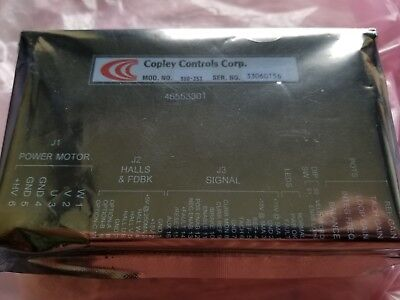 Copley Controls Corp. 800-353 Amplifier Uic Pn 46553301 Amp Servo Brushless