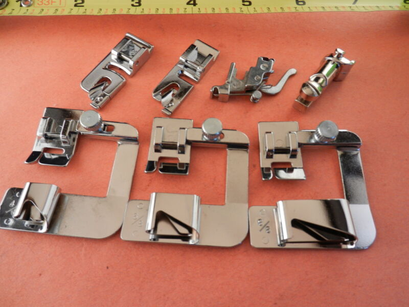 ADAPTER SNAP ON HEMMER FEET SET fits BERNINA OLD STYLE 700,732,800,830,930,