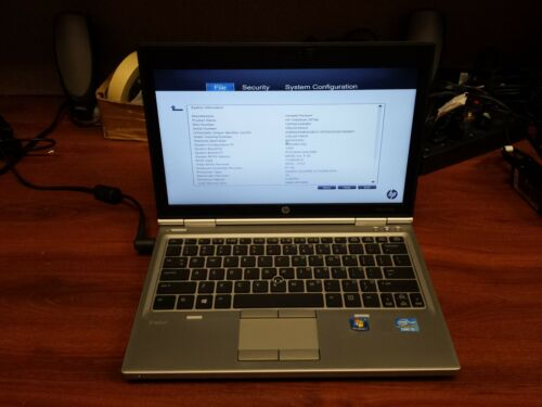 "Bad Battery Latch HP EliteBook 2570p Core i3 2.5GHz/4GB/12.5"" LCD Screen/Laptop"