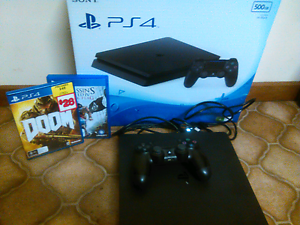 Ps4 + 2 games+ control ( 5 months new). Colac Colac-Otway Area Preview
