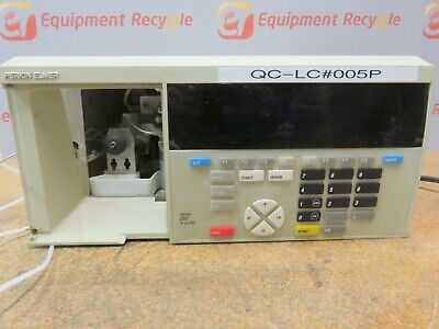 Perkin Elmer Series 200 Ic Pump Liquid Micro Chromatography Analysis Hplc