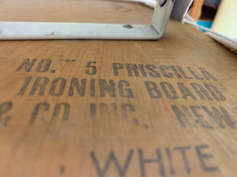 Vintage #5 Priscilla Ironing Board