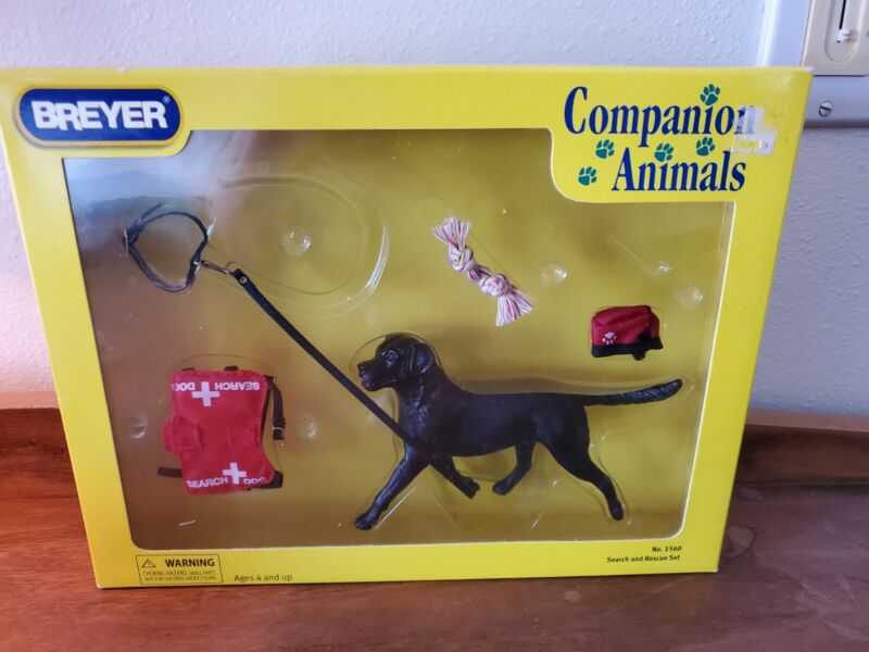 Breyer Companion Animals Search Dog Set