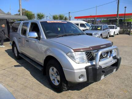 2008 Nissan Navara D40 ST-X 4X4 AUTOMATIC SILVER CANOPY 4WD Ute Lansvale Liverpool Area Preview