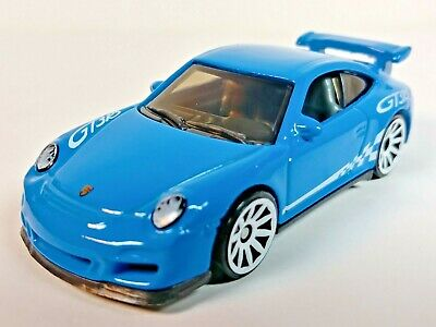 2020 Hot Wheels HW Exotics 5 Pack Porsche 911 GT3 RS Blue 10-Spoke 1/64 Loose