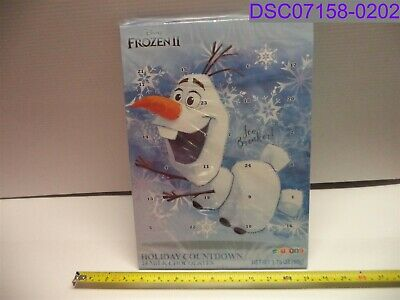 Qty = 29: Disney Frozen 2 Olaf Milk Chocolate Advent Calendar