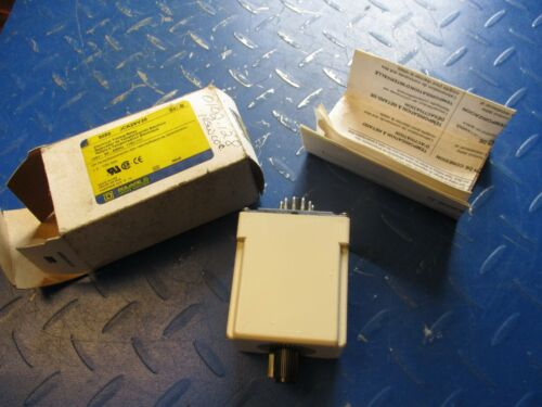 SQUARE D ELECTRICAL TIMING RELAY 9050 JCK29V20 #3311043T NEW IN BOX