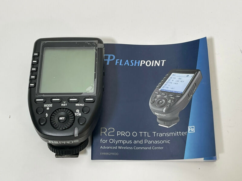 Flashpoint Pro Panasonic/Olympus R2 Trigger. Works With Godox