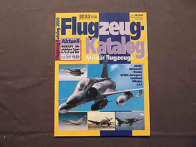 Flugzeug - Katalog 2000, Mlitärflugzeuge, GeraNova, Luftfahrt Aircraft Luftwaffe