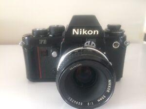 Nikon f3 50mm lens