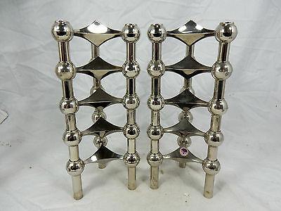 Set of 10 Nagel BMF Quist modular candlesticks 10er Set Kerzenständer